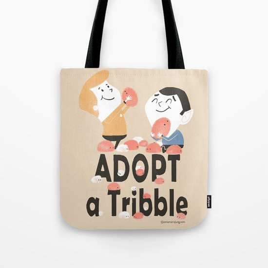 Adopt a Tribble Tote Bag