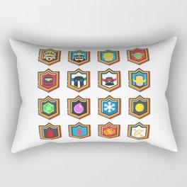 Clash Royale Deck Rectangular Pillow