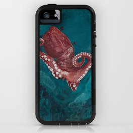 Under water world - the octopus iPhone Case