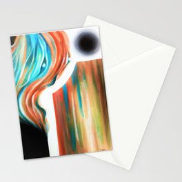 The Lady of Tides' Given Duty Stationery Cards