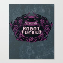 Fancy and Proud Canvas Print