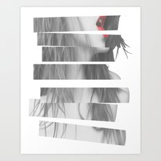 The Shock Art Print