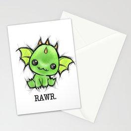 Baby Dragon Kawaii Stationery Cards