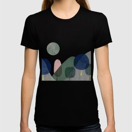 Trees and mountains T-shirt