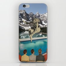 Poolside Olympics iPhone & iPod Skin