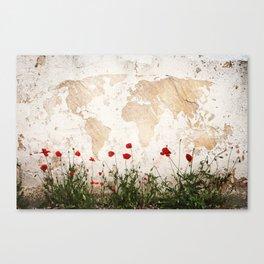 amapolas mundi Canvas Print