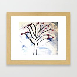 Simply Tree Framed Art Print