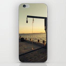 Natant Wharf iPhone Skin