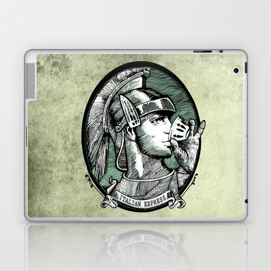 italian express Laptop & iPad Skin