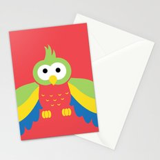 Minimal Parrot Stationery Cards