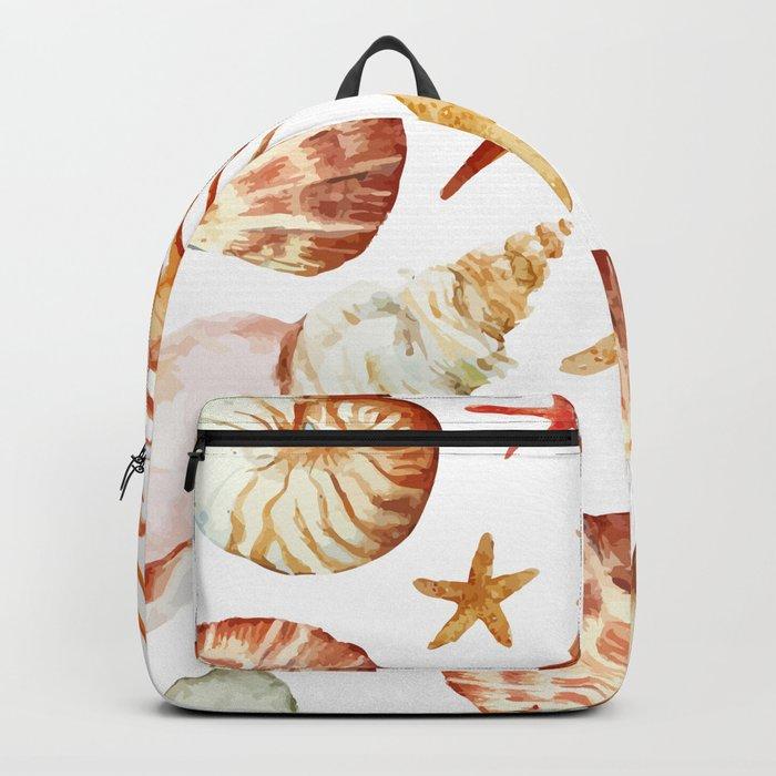 Sea Life Pattern 09 Backpack