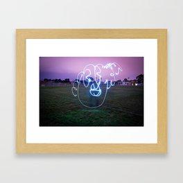 Bloopy W/JMR1 Framed Art Print