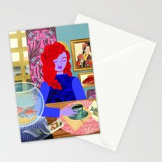 Aquarium Room Stationery Cards