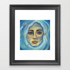 Womisland Framed Art Print