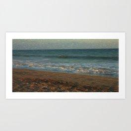 Hypnosy del mare Art Print