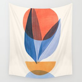 Summer Stack II / Abstract Landscape Wall Tapestry