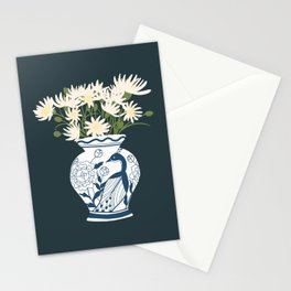 Vase no. 6 with Peacock  Stationery Cards