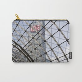 train station - glass - Berlin Carry-All Pouch