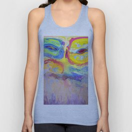 485 - Abstract colour design Unisex Tank Top