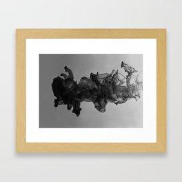 Ocean of darkness Framed Art Print