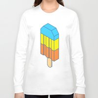 popsicle Long Sleeve T-shirts featuring Popsicle by Haitham Almayman