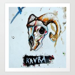 Kavra Art Print