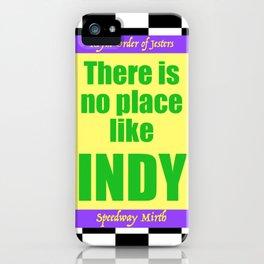 ROJ Speedway Mirth iPhone Case