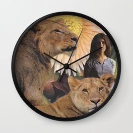 The Lionesses Wall Clock