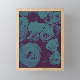 Mother May I -blue- Framed Mini Art Print