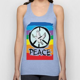 Peace Unisex Tank Top