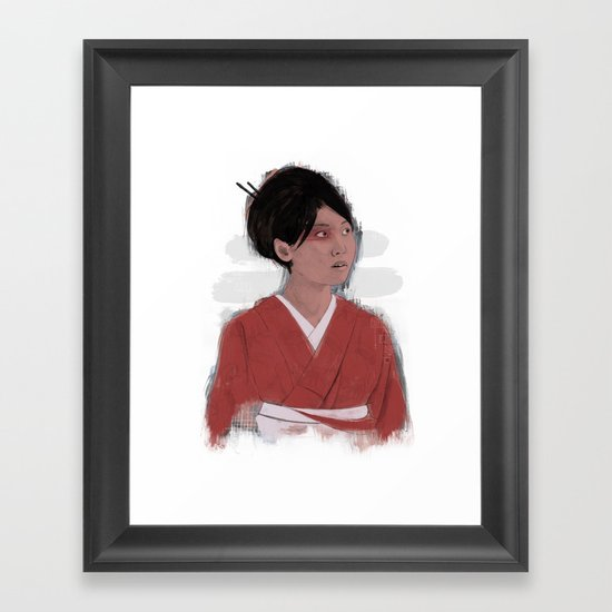 Utsukushii Framed Art Print