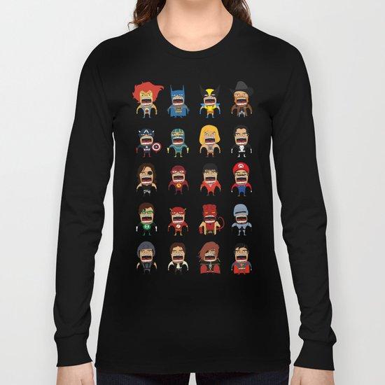 Screaming Heroes Long Sleeve T-shirt