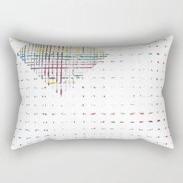 The System - diamond Rectangular Pillow