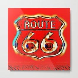 Route 66 #2 Metal Print