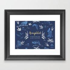 Nemophilist Framed Art Print