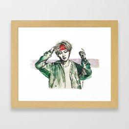 BTS V (2) Framed Art Print