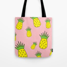 pineapple psych o Tote Bag