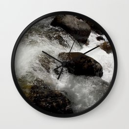 A Place to Contemplate, on Fall Creek Wall Clock
