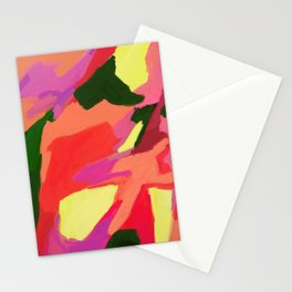 Linger Abstract Art Stationery Cards