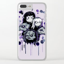 The Purple Shard Clear iPhone Case