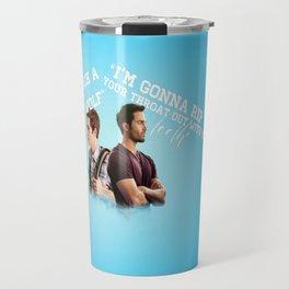 Stiles & Derek (Teen Wolf)  Travel Mug