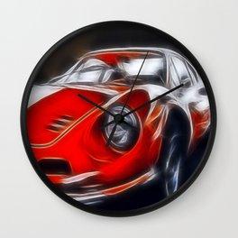 the legendary DINO GT Wall Clock