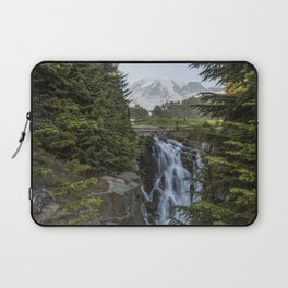 Mount Rainier and Myrtle Falls, Late Afternoon Laptop Sleeve