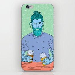 Beer Guy iPhone Skin
