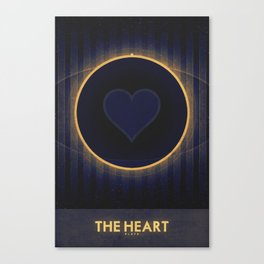 Pluto - The Heart Canvas Print