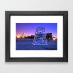 Lifeguards Framed Art Print