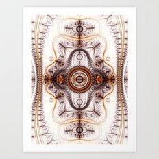 Time Machine Art Print