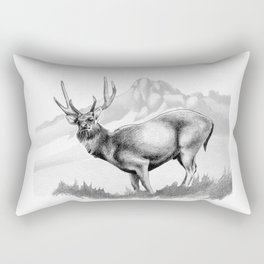 Rusa Deer Rectangular Pillow