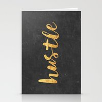 hustle Stationery Cards featuring Hustle by Text Guy