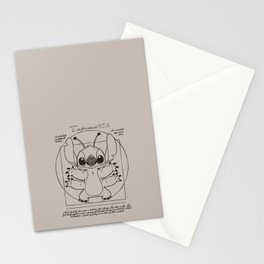 Stitch vitruvien Stationery Cards